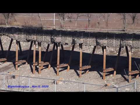 Welland Canal drained between Lock 6 and Lock 7 (Mar. 2020)из YouTube · Длительность: 2 мин17 с