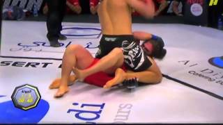 Desert Force MMA Fight ends in Broken Arm Armbar Submission #4 Wolfman!