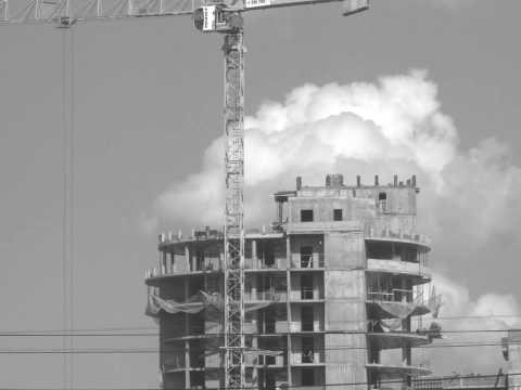 30x Time lapse of construction in Moscow
