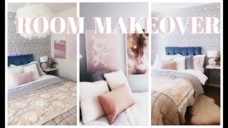 ROOM MAKEOVER - BEFORE & AFTER (huge difference)