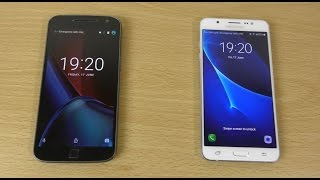 Moto G4 Plus vs Samsung Galaxy J7 2016 - Speed & Camera Test!