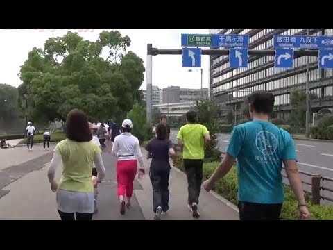 Japan Trip 2014 Tokyo Imperial Palace Running (皇居ランニング)