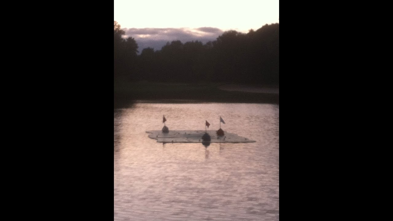 birdieball diy floating putting green instructional video youtube