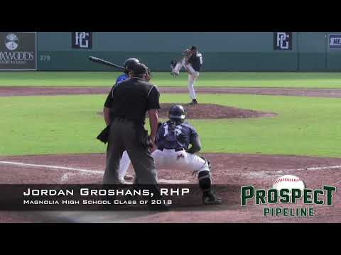 Jordan Groshans Prospect Video, RHP, Magnolia High School Class of 2018
