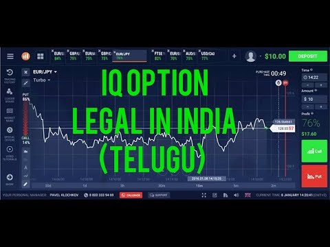 Iq Option is Legal In India (TELUGU)