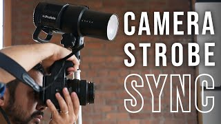 How To Sync Studio Strobe Lights With Your Camera | Strobe Lighting Part 2