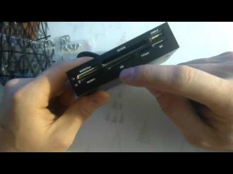 """USB 2.0 3.5 """" Floopy передней панели SDHC микро-sd MMC CF XD TF устройство чтения карт памяти"""
