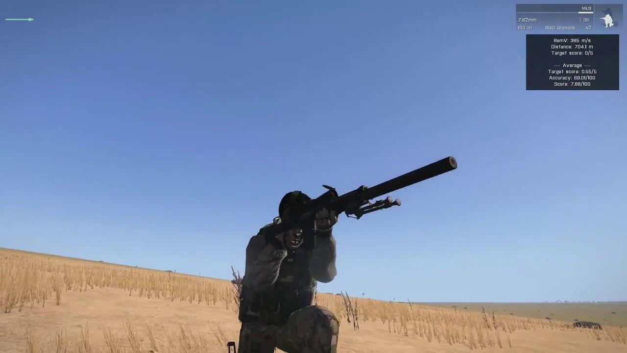 Arma 3 ACE3 Sniper Tutorial (Very Quick, Simple, & Easy 12