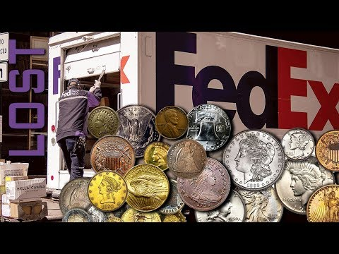 $38,000 Worth Of Gold & Silver Coins Lost By FedEx