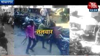 Video: Sword Fight In Gujarat Market