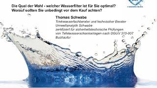 Wasserfilter im Vergleich: Welcher Wasserfilter ist für Sie optimal und worauf sollten Sie achten?