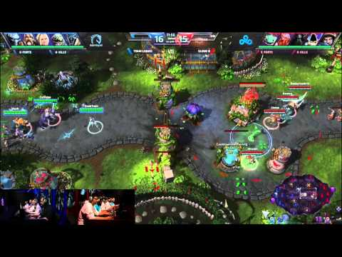 Team Liquid vs. Cloud 9 -Semifinals- Heroes of the Storm Exhibition Tournament 2014 - Game 1