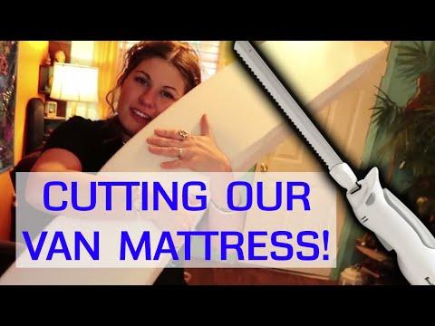 cutting-a-memory-foam-mattress-for-our-van