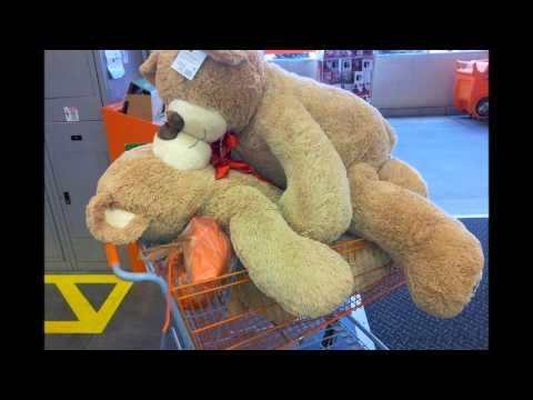 The Home Depot Christmas Teddy Bear