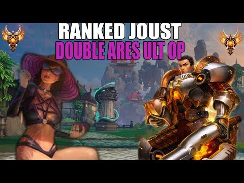 The Morrigan DOUBLE Ares ult OP - Ranked Joust w/ Dave - Smite