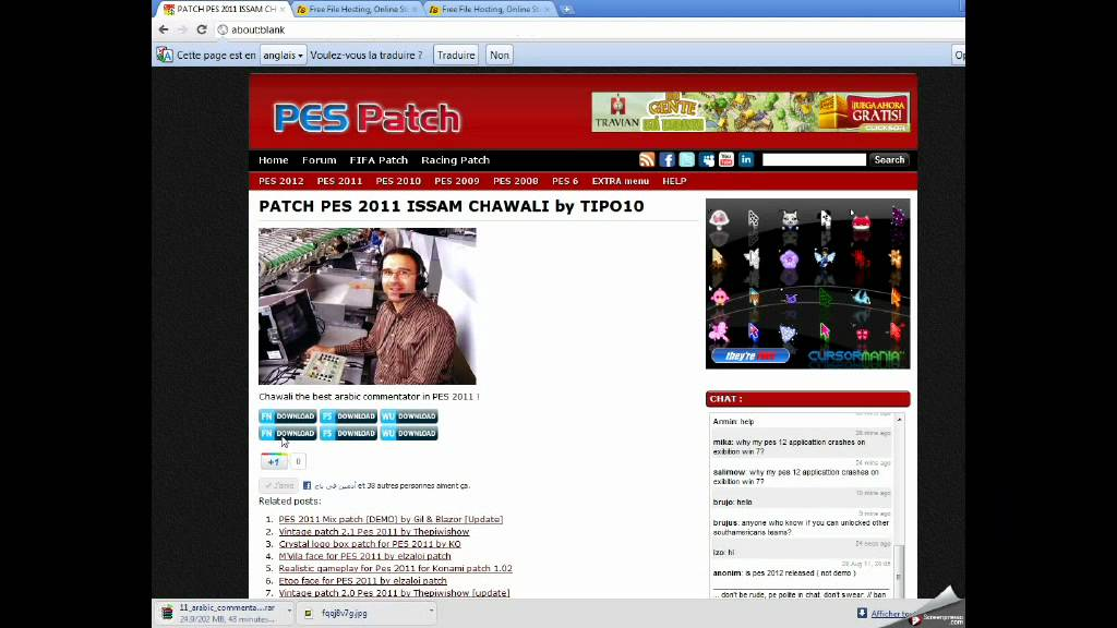 patch pes 2010 pc issam chawali gratuit
