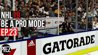 NHL 19 Be A Pro Mode - BACK TO BACK PENALTIES! Ep.23