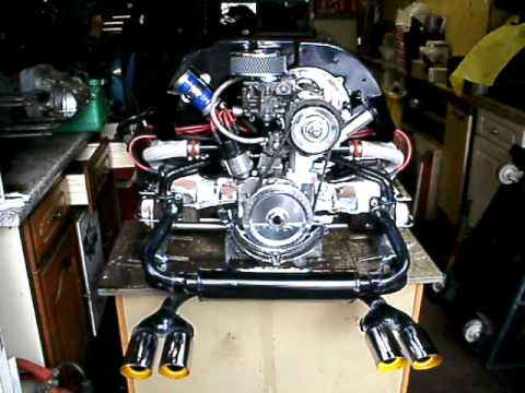 VOLKSWAGEN 1600cc VW CAMPER BEETLE BEACH BUGGY RAIL TRIKE ENGINE FOR SALE ON EBAY 28/08/09 - YouTube