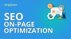 SEO On-Page Optimization   SEO Tutorial For Beginners   Simplilearn