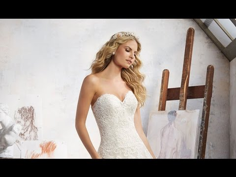 Mori Lee 8108 Wedding Dress - YouTube