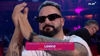 """""""Louco"""" - Piruka feat. Bluay - Vencedor Categoria Vodafone Canção do Ano"""