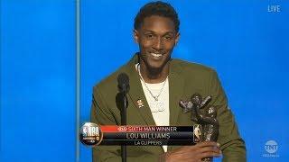 Lou Williams Receives Sixth Man Award Award At 2019 NBA Awards