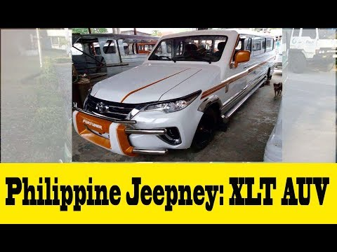 Philippine Jeepney XLT AUV:  Philippine's North Signature
