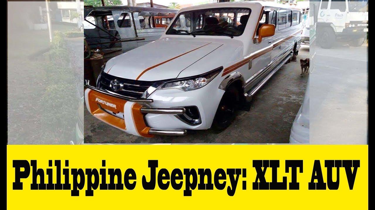 Philippine Jeepney Xlt Auv Philippine S North Signature