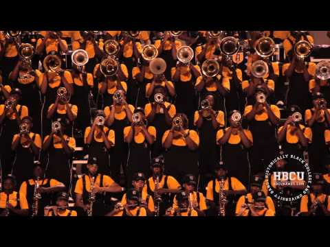 Legs Shaking - Alabama State Mighty Marching Hornets