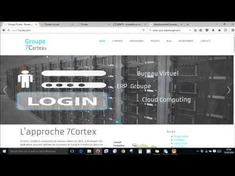 Groupe 7Cortex Bureau Virtuel Travail Collaboratif Erp Les actualités du Groupe 7Cortex 7C