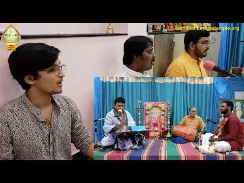 கந்த சஷ்டி பெருவிழா 2020 - ஹைதெராபாத் Dr. சிவா - திருப்புகழ் பாமாலை பகுதி 4