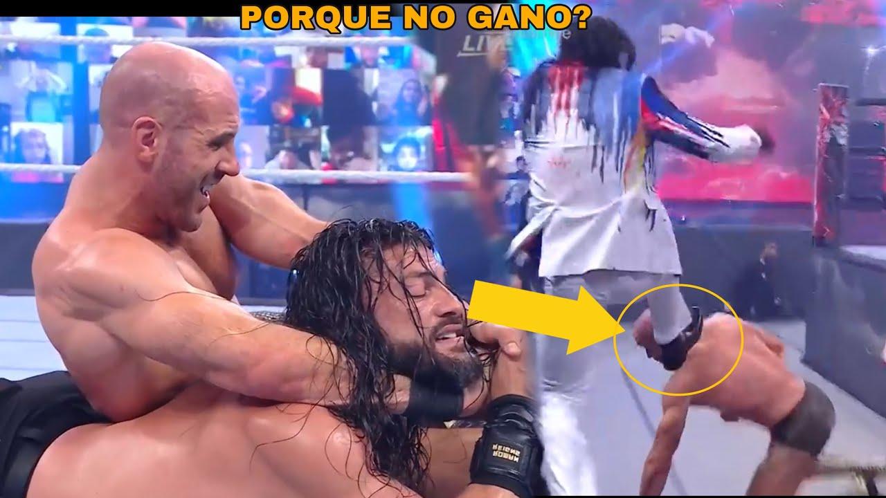 La Verdad Por la que Cesaro No Ganó el Campeonato Universal en Wrestlemania Backlash 2021