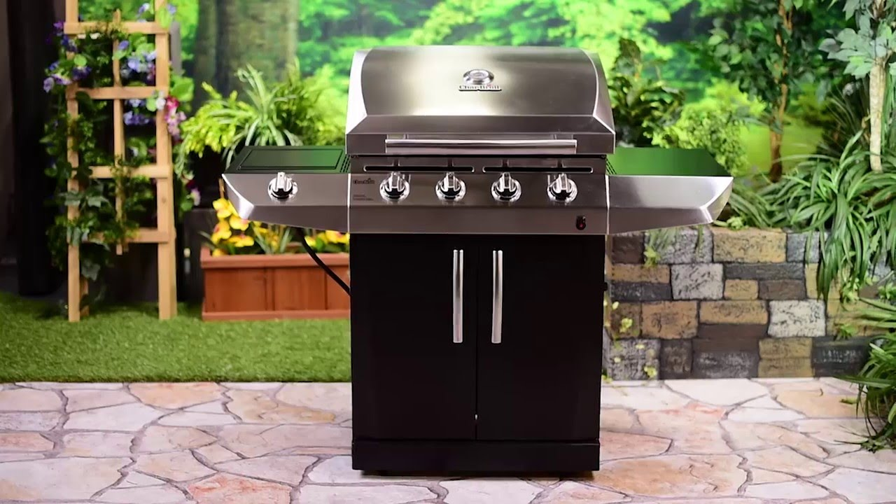 char broil 4 burner gas grill youtube