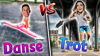 ON ÉCHANGE NOS SPORTS ! #7 (TROTTINETTE VS DANSE)