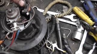 Ремонт мотора печки ford