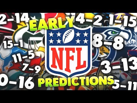 Way Too Early 2020 NFL Win-Loss Predictions For All 32 Teams