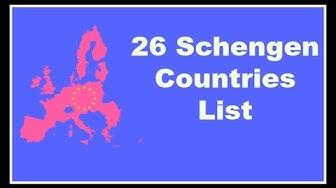 Schengen Countries