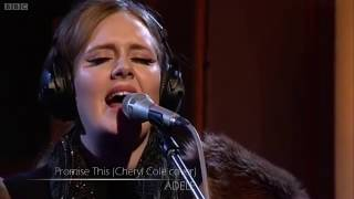 Adele - Promise This (Cheryl Cole cover)