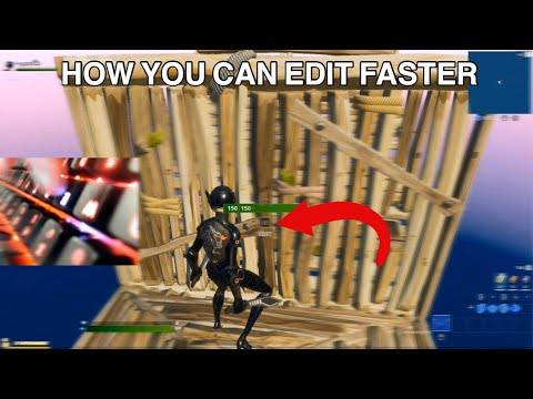 EDIT FASTER In Only 10 Minutes In Fortnite..