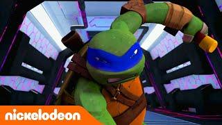 Черепашки-ниндзя | Логово врага | Nickelodeon Россия