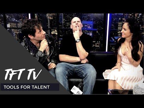 TFT TV -  Cheryl Martinez Interviews DJ Liquid Todd (Sirius XM Radio) & Musician Drew Blood
