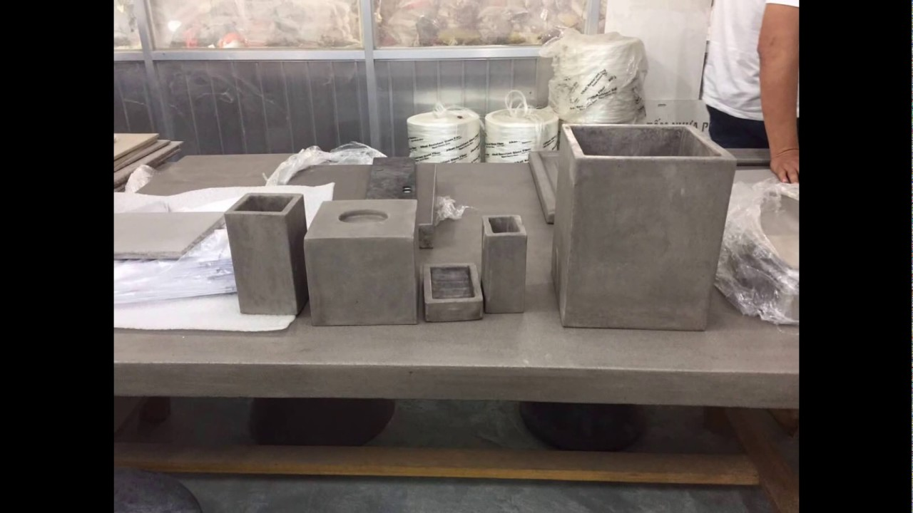 Fiber Concrete Cement Furniture