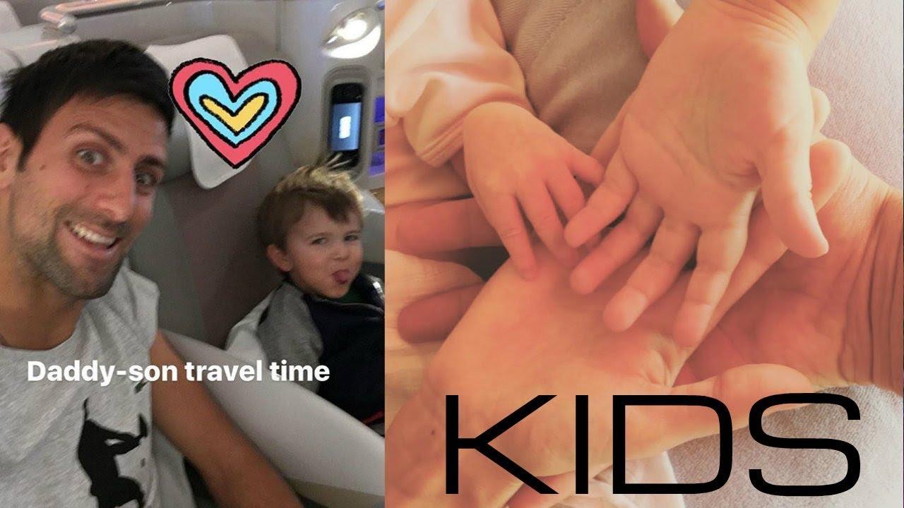 Novak Djokovic Kids Baby Daughter And Son Stefan Youtube