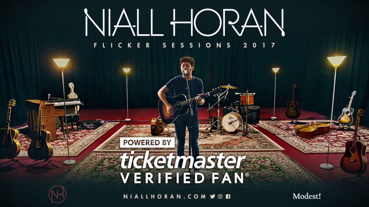 Niall Horan Flicker Sessions 2017 #VerifiedFan Onsale