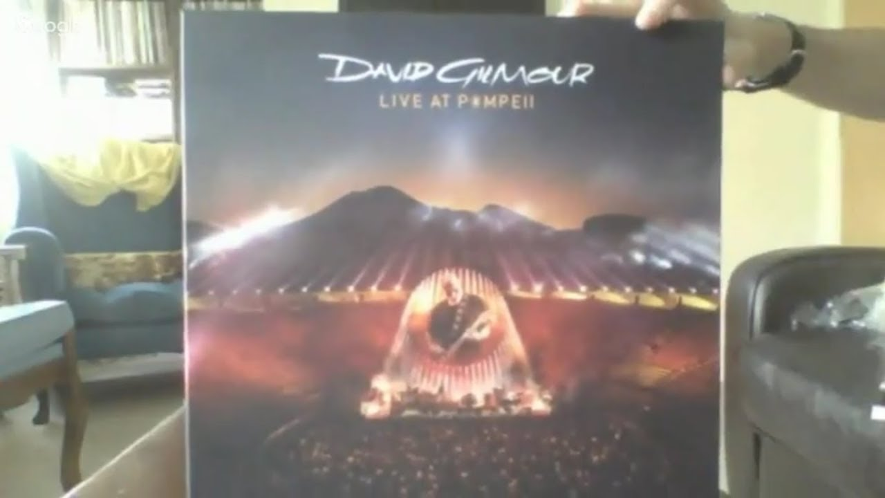 David Gilmour Live At Pompeii Quad Vinyl Set