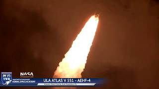 ULA Atlas 551 Rocket Launch from 4 Miles with Nikon Coolpix P1000