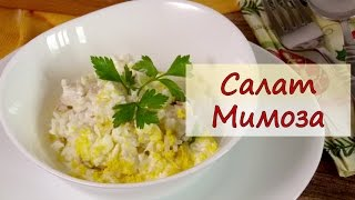 Салат Мимоза - рецепты от well-cooked