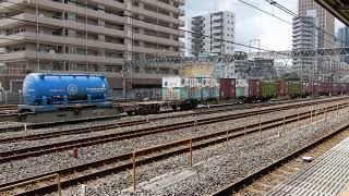与野での貨物列車