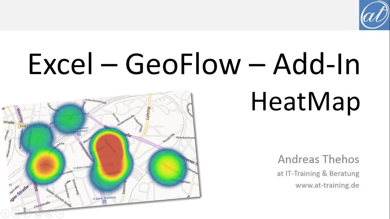 Excel # 378 - HeatMap mit Power Map für Excel 2013 - Add-In