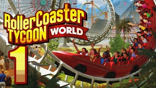RollerCoaster Tycoon: World: Story Mode Gameplay - Part 1 60FPS HD